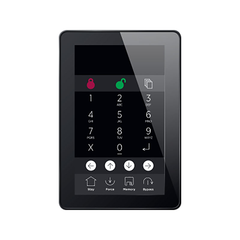 clavier alarme écran tactile ICT PRT-TS50