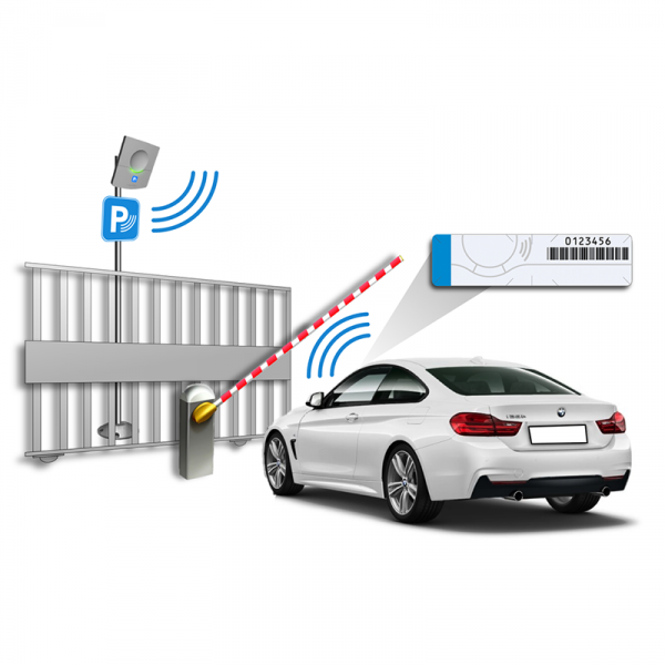 Etiquette RFID UHF pour parebrise