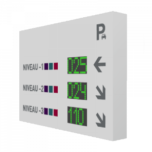 bouton poussoir contrôle d'accès