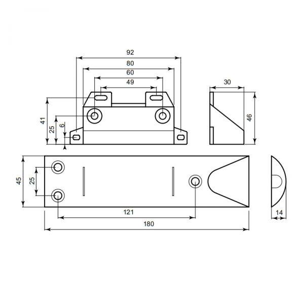 contact magnétique portes et fenêtres