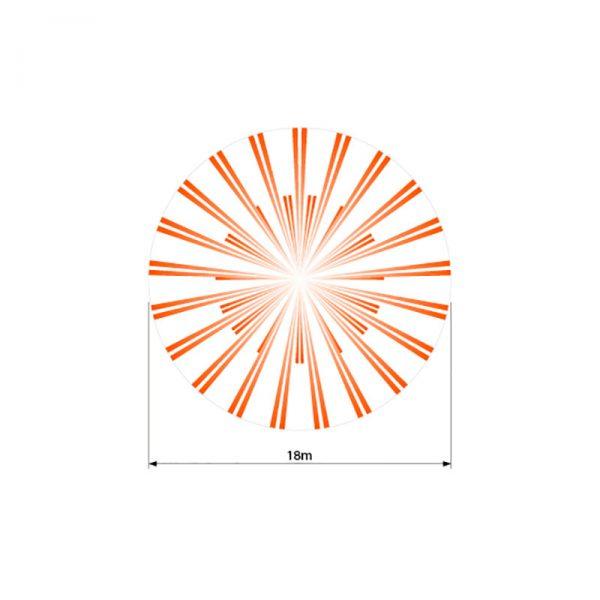 Détecteur plafond Optex sx-360Z