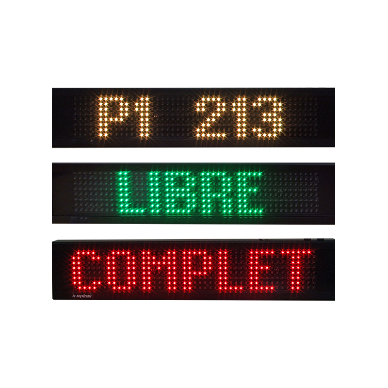 Panneau Leds à message variable PMV